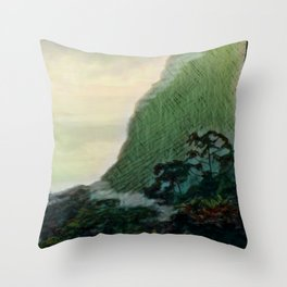 Mists In The Pitons: St. Lucia Throw Pillow