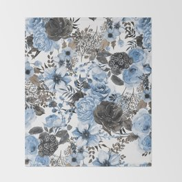 Floral Pattern#4 Throw Blanket