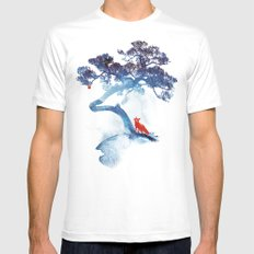 The last apple tree White Mens Fitted Tee LARGE