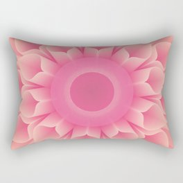 Mandala Flower Rectangular Pillow
