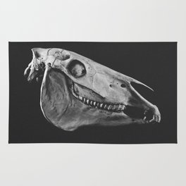 Horse Skull Rug