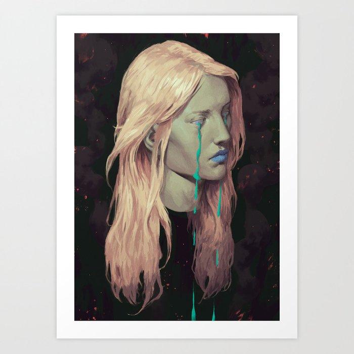 Ghost IV Art Print