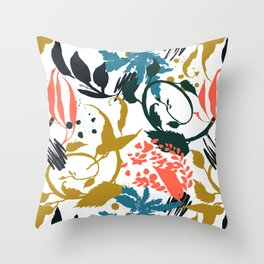 Modern abstract nature B1 Throw Pillow