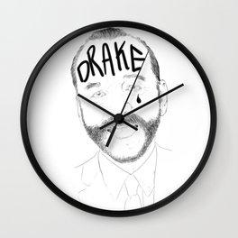 Bill Murray Tat and -Tear drop. Wall Clock
