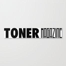 toner magazine logo Canvas Print
