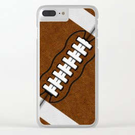 Fantasy Football Super Fan Touch Down Clear iPhone Case