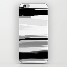 Soft Determination Black & White iPhone Skin