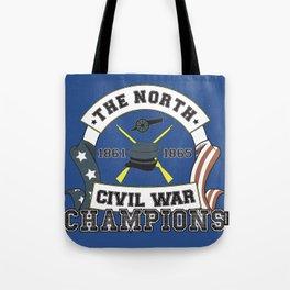 American Civil War Champions - Northern Pride - The Union - Parody Shirt Tote Bag