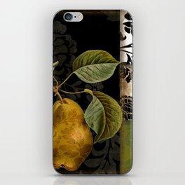 Damask Lerain Pear iPhone Skin