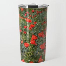 A stroll of poppies Travel Mug