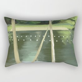 Lake Anza Rectangular Pillow
