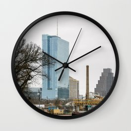 Austin, Where are you heading to? Wall Clock