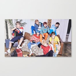 Bangtan Boys / BTS Canvas Print