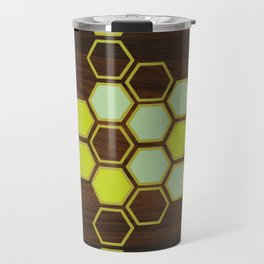 Hex in Green Travel Mug