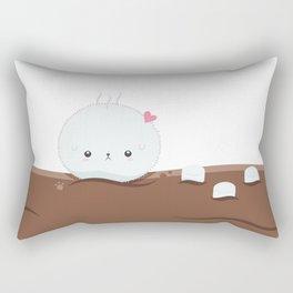 Hot Chocolate & Marshmallows Rectangular Pillow