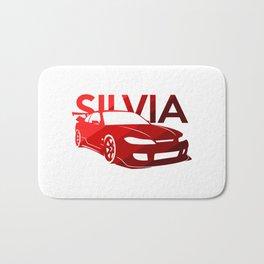 Nissan Silvia S15 - classic red - Bath Mat