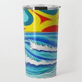 Sunny Surfers Paradise Travel Mug