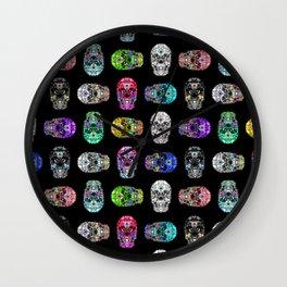 I love your Robotic Skull Heart on Black Wall Clock