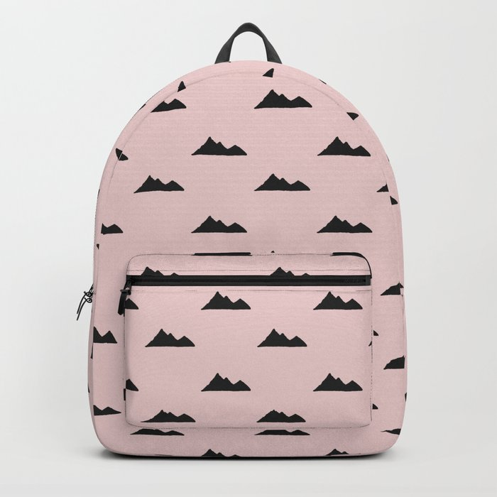 Mountain pattern Backpack