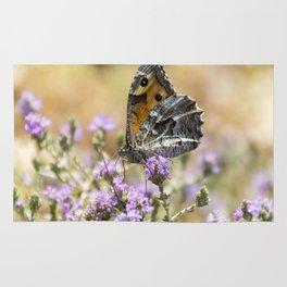 Hipparchia cretica Butterfly Rug