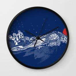Olympic Swimmer  Wall Clock