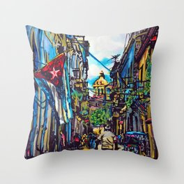 Havana, CUBA No.2 | 2015 Throw Pillow