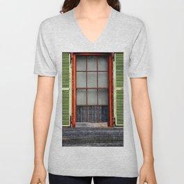 Window Shutters Unisex V-Neck