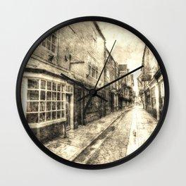 The Shambles York Vintage Wall Clock