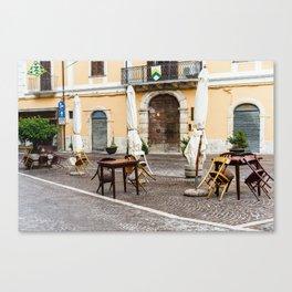 Piazza Canvas Print