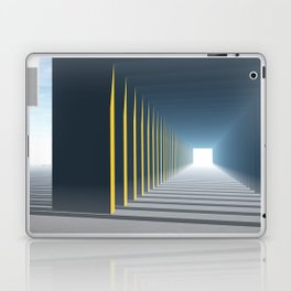 Linear Perspective of Light Laptop & iPad Skin
