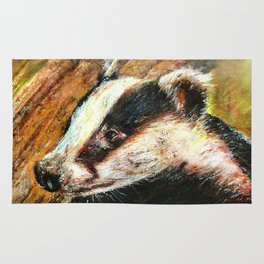 Mr Badger Rug