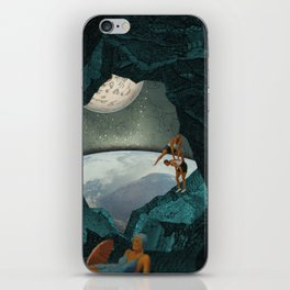 Space Spelunking iPhone Skin