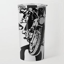 The Horde Motorcycle Art Print Travel Mug