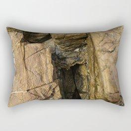Door into the Cliff Face Rectangular Pillow