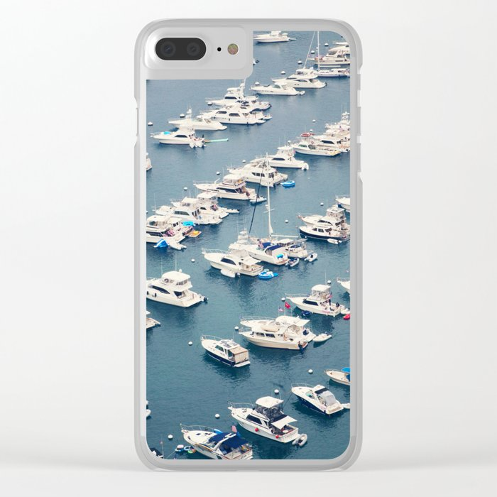 Avalon Harbor Clear iPhone Case