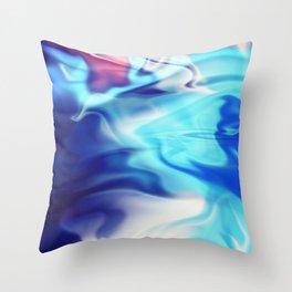 Wave Pool Throw Pillow
