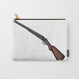 Shotgun Illustration Carry-All Pouch