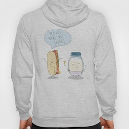 Hot Dog / The spicy sausage Hoody