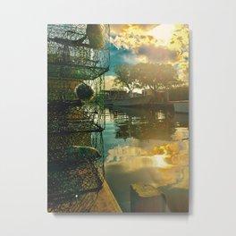 Colington Crabbers Metal Print