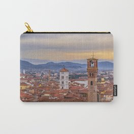 Aerial View Historic Center of Lucca, Italy Carry-All Pouch