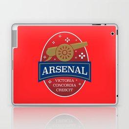 North London Red Football Laptop & iPad Skin