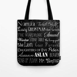 Narnia Celebration - black Tote Bag