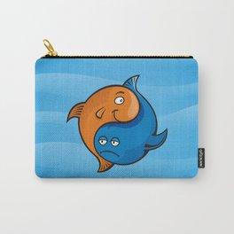 Yin Yang Fish Cartoon Carry-All Pouch
