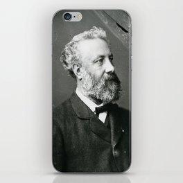portrait of Jules Verne by Nadar iPhone Skin