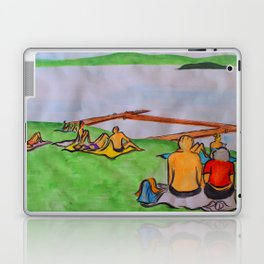 Dreaming of lazy summer afternoons on the banks of Lake Mälaren Laptop & iPad Skin