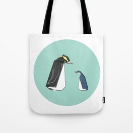 New Zealand Penguins Tote Bag