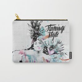 Flamingo Style Carry-All Pouch