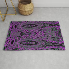 Paisley 7 Purple Rug