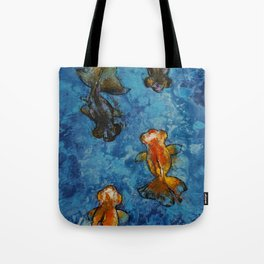 Butterfly Tail Goldfish Tote Bag