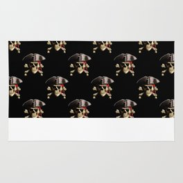 Jolly Roger And Hat Rug